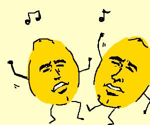 dancing lemons